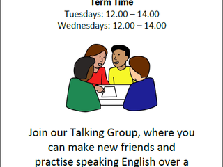 Join our New Talking Groups