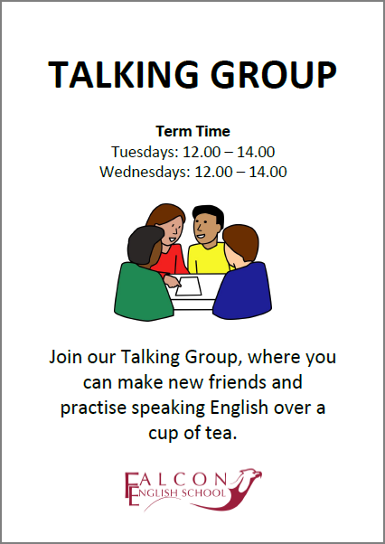 Talking Group poster