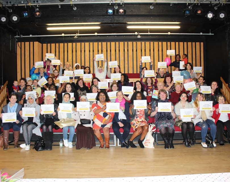 8 March 2018. International Women's Day at Harlow Playhouse.