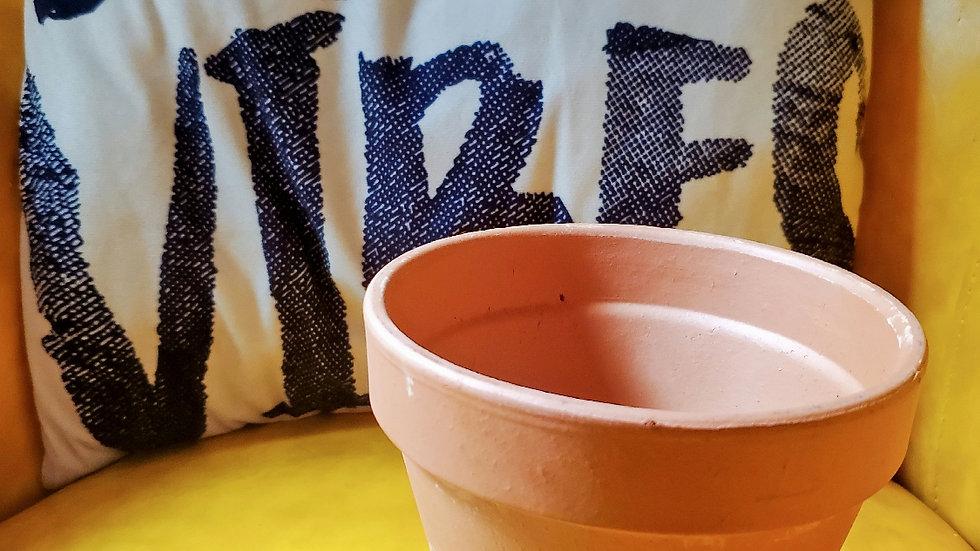 Terra Cotta Pot with saucer