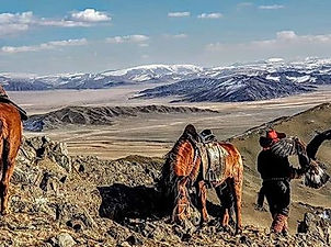 The Eagle Hunters of Mongolia!_#picofthe