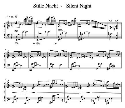 Stille Nacht - Jazzy Arrangement