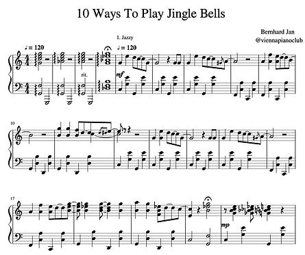 10 Ways to play Jingle Bells