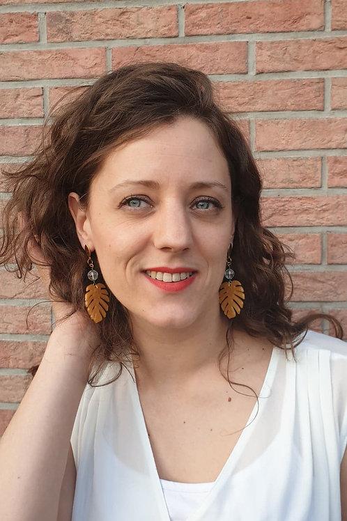 Boucles d'oreilles Montera Doré