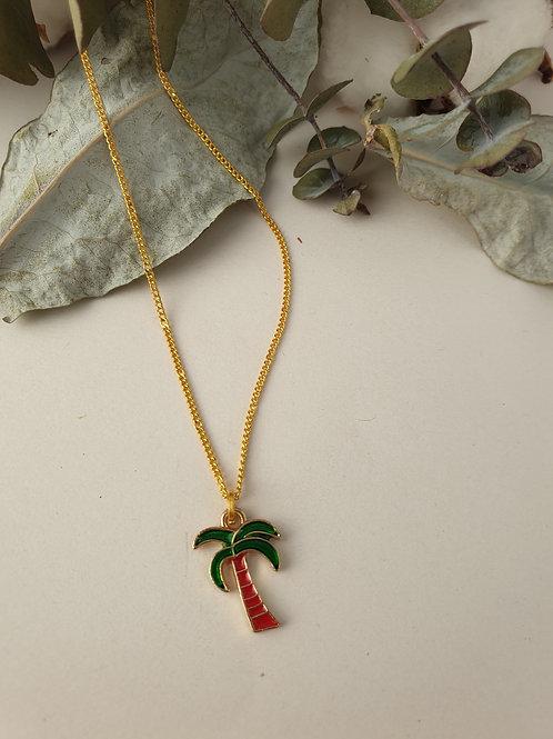 Collier palmier