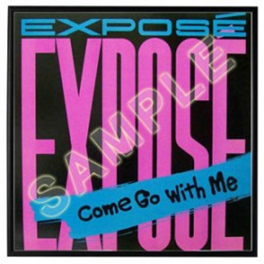 """Come Go With Me 12"""" - Autographed"""