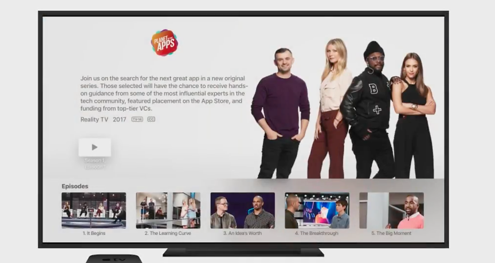 Planet of the Apps on AppleTV