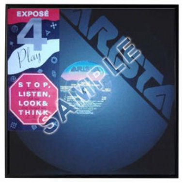 "Stop, Listen, Look & Think 12"" (Autographed)"