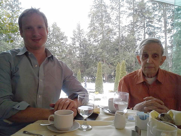 I was invited to have breakfast with John Forbes Nash, Jr. in Prospect House at Princeton University on March 3rd, 2015 after the premiere of my Requiem in New York City