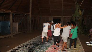 Pintura ritual Amazonas