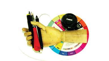 Productos y herramientas de arte