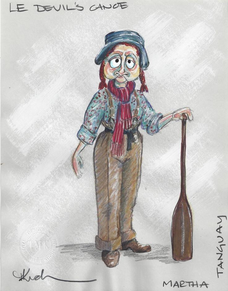 Martha Tanguay Puppet