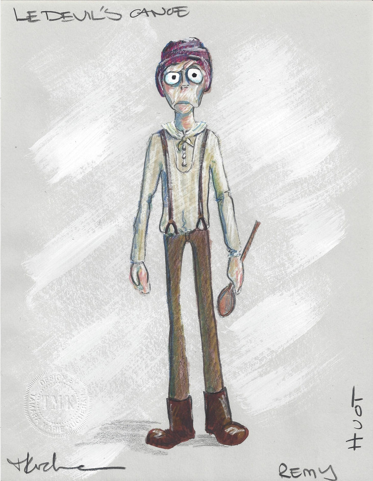 Remy Huot Puppet