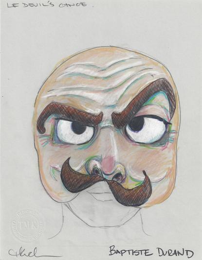 Baptiste Durand Mask