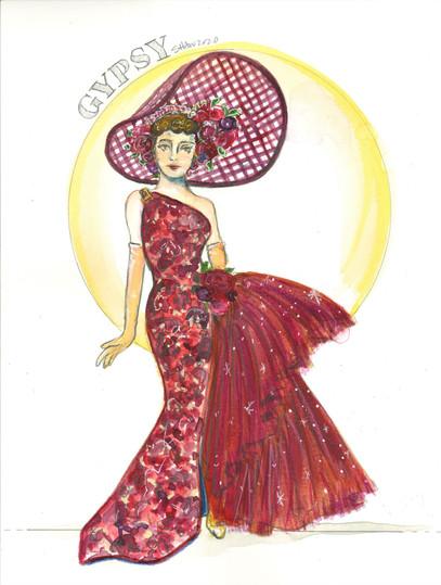 Louise as Gypsy Rose Lee