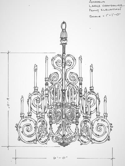 Amadeus Chandelier Design