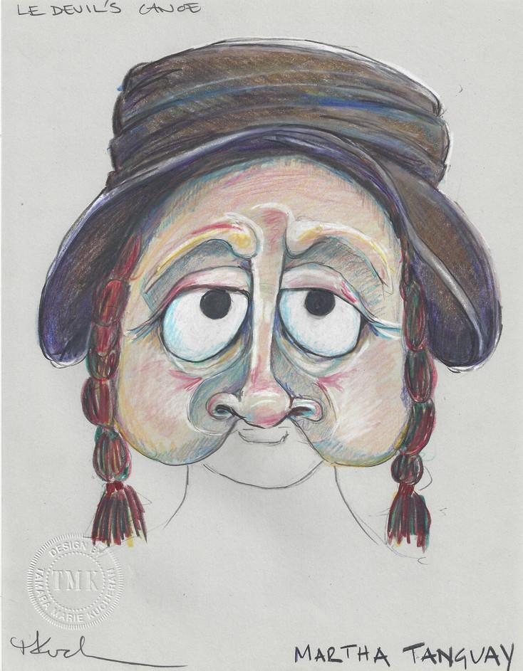 Martha Tanguay Mask