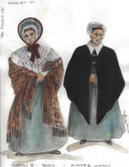 Woman   Quaker