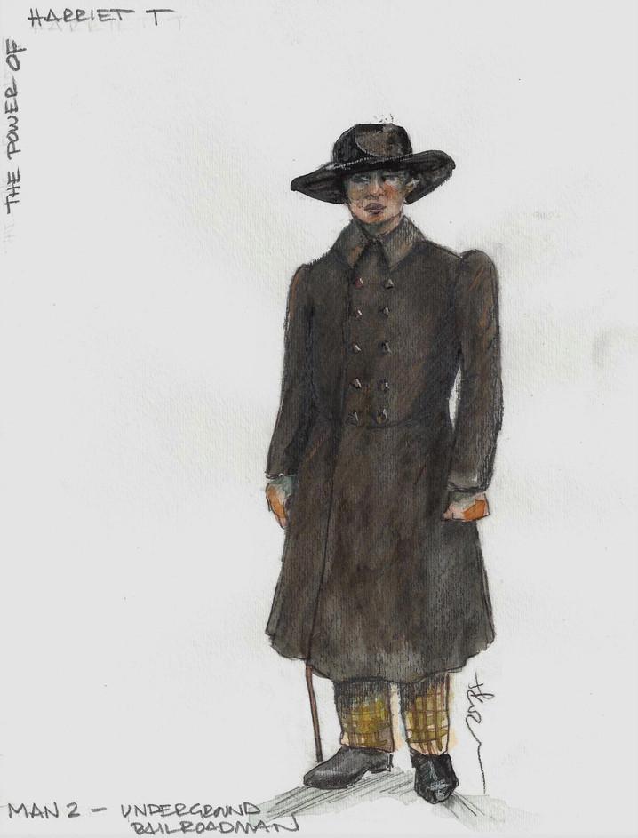 Underground Railroad Man