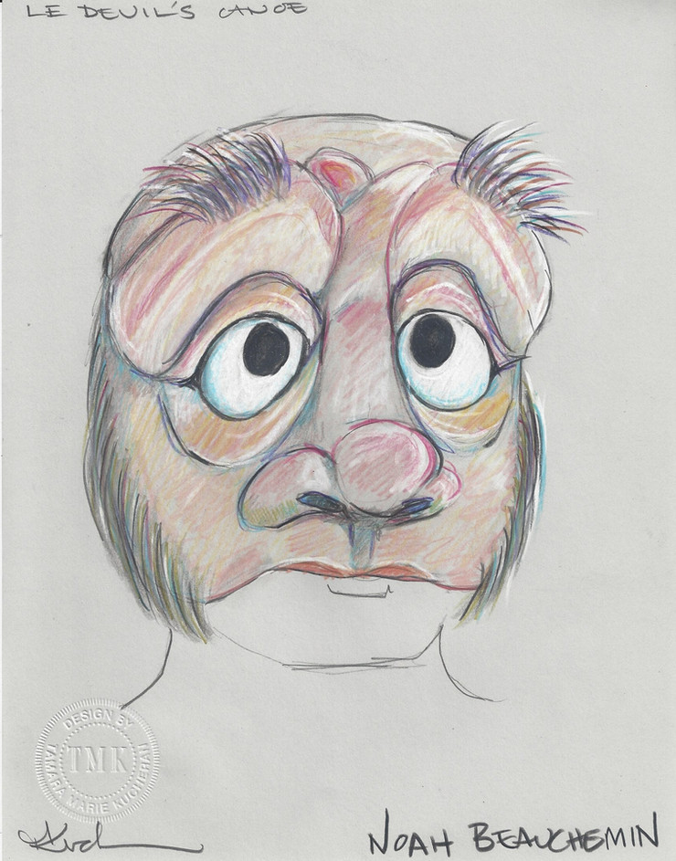 Noah Beauchemin Mask