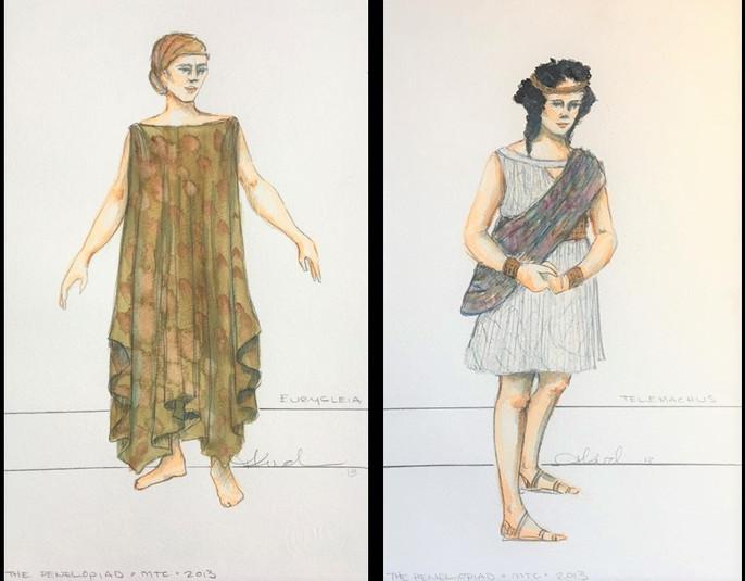 Eurycleia   Telemachus