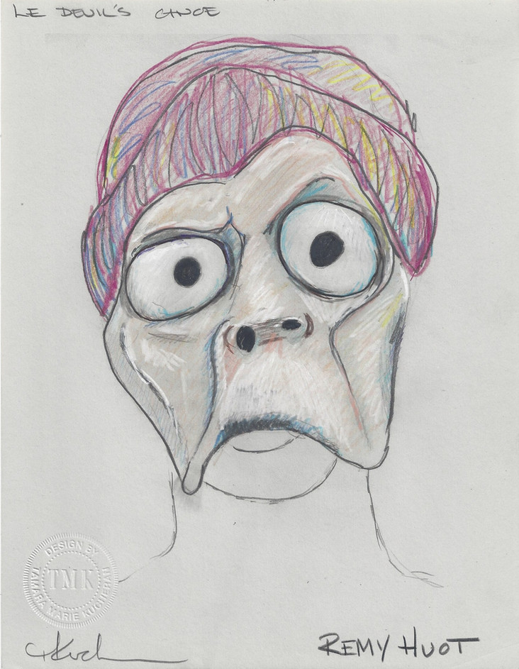 Remy Huot Mask