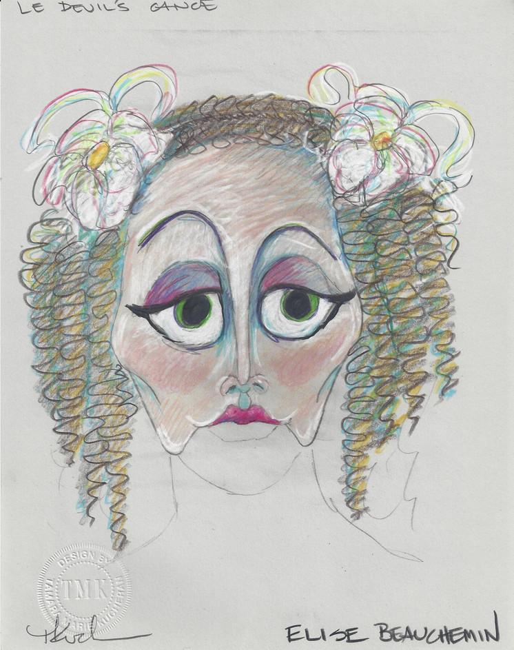 Elise Beauchemin Mask