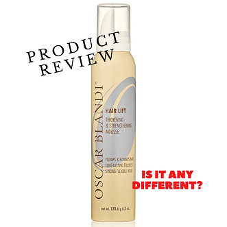 Oscar Blandi Hair Lift Thickening & Strengthening Mousse REVIEW