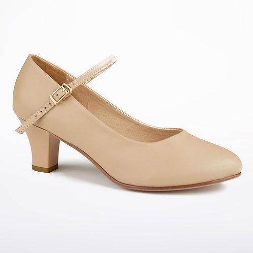 "Tan Character Shoes 2"" Heel"