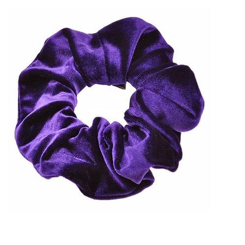 Purple Hair Scrunchie