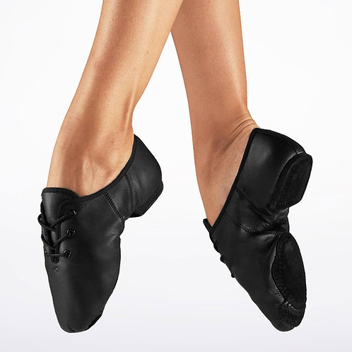 Split Sole Jazz Shoes Black