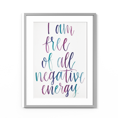Free from Negative Energy