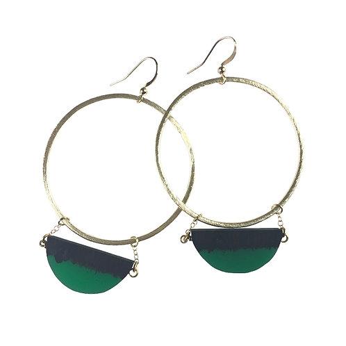 Esmerelda Earrings by Fabulina Designs