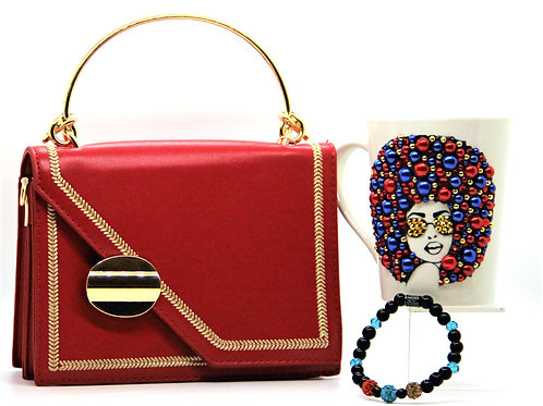 Excuse Me, Miss - Red Purse