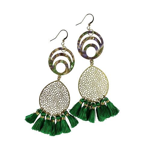 Marie-Tassel Earrings by Fabulina Designs