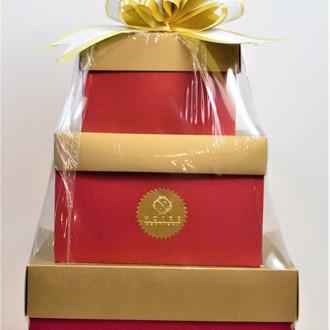 Red & Gold Custom Packaging