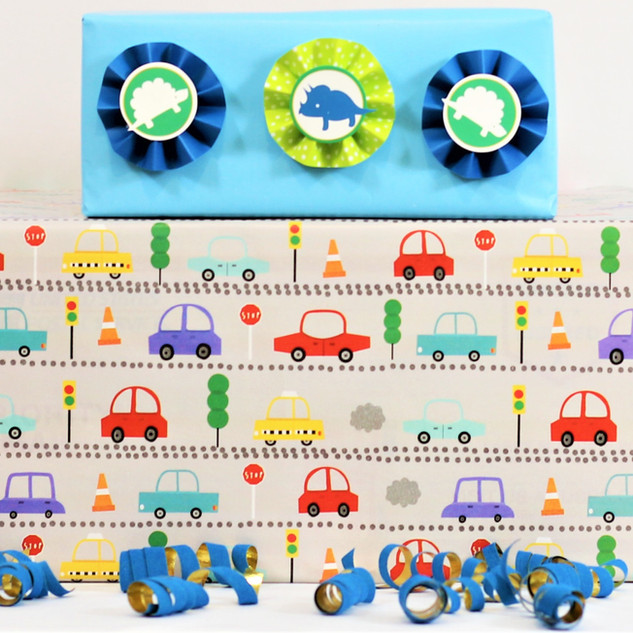 Little Boy Joy Gift Wrap