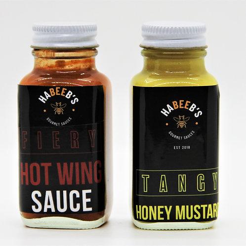Habeeb's Sauce Tasting Duo
