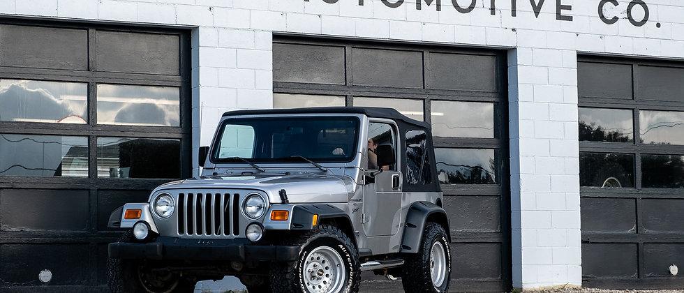 2000 Jeep Wrangler Sport