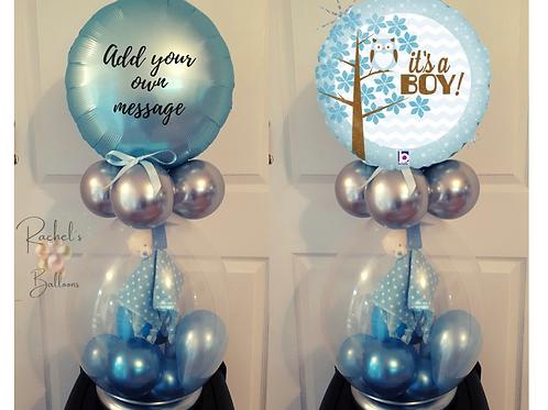 New Baby stuffed balloon