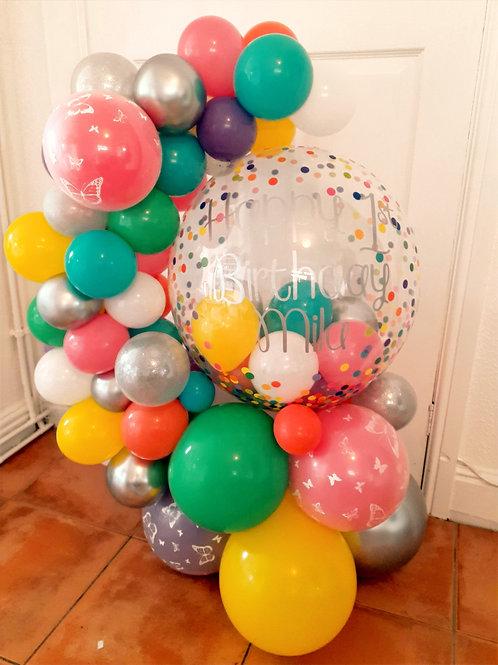 Multi Colour Balloon Hug
