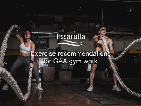 Exercise Recommendations For GAA Players