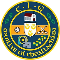 O' Callaghans mills Crest.png