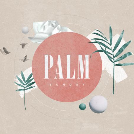 Palm Sunday Festivities!