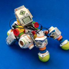 Train your Puppy fun  TetraPack MilkBlocks & LEGO Mindstorms