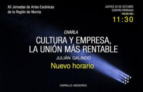 El jueves participaremos en las XII Jornadas de las Artes Escénicas de la Región de Murcia