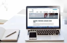 PÁGINA WEB CORPORATIVA DE LA SOCIEDAD