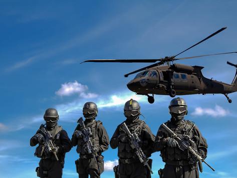 """Militär setzt Lockdown """"Regeln"""" durch"""
