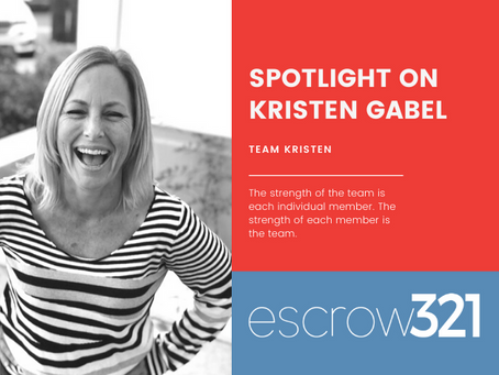 Spotlight on : Kristen Gabel