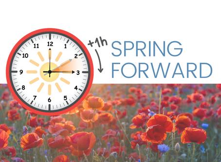 REMINDER : Daylight Savings Time